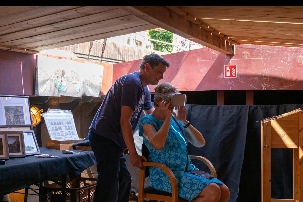 Virtuelle Zeitreise während Hanse-Ahoi 2019