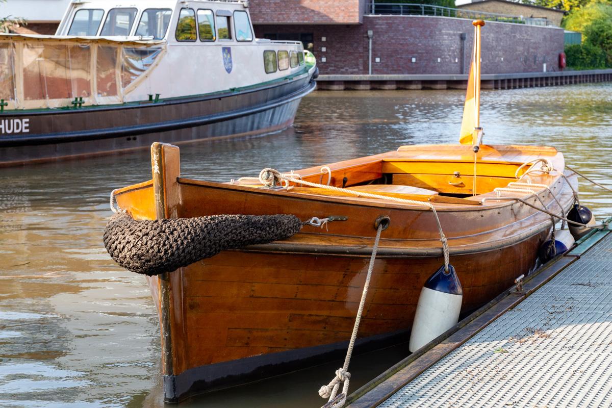 """Das neue Vereinsboot """"Margarethe"""""""